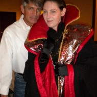 With the man himself, Eric Roberts